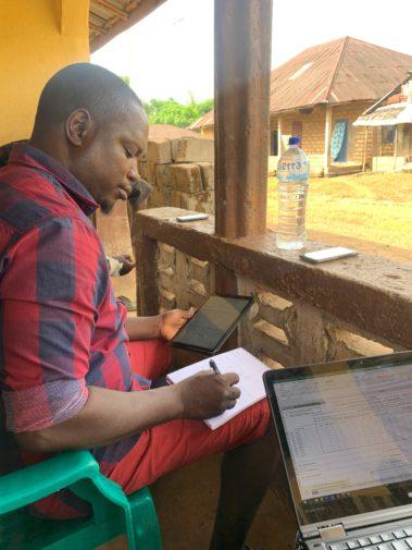 ICAN staff working in Tanzania