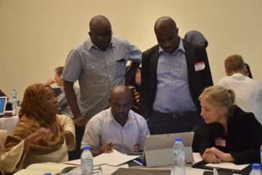 ICAN-staff-workshop-discussing-evidence-immunization-delivery-costs