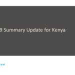 Covid-19 strategies and updates: Kenya