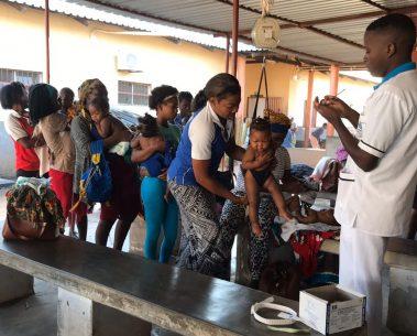 Mozambique health center